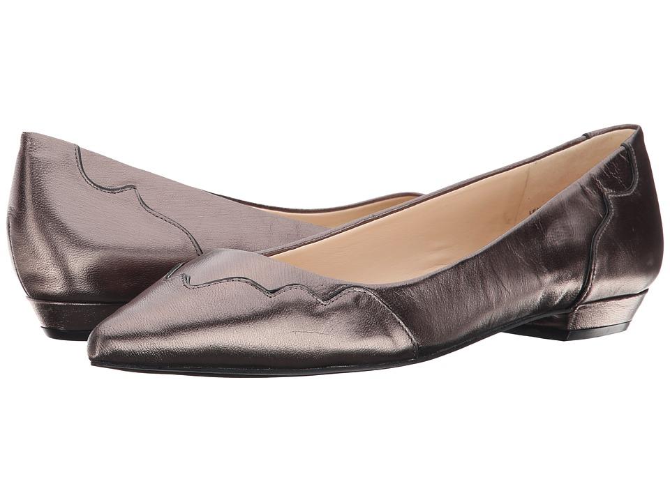 Nine West - Tie-Dye (Pewter/Black Metallic) Women's Flat Shoes