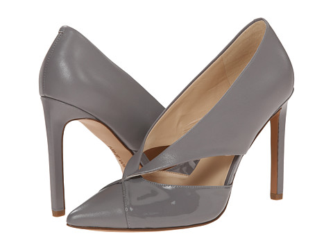 Nine West - Tayme (Grey/Grey Leather) High Heels