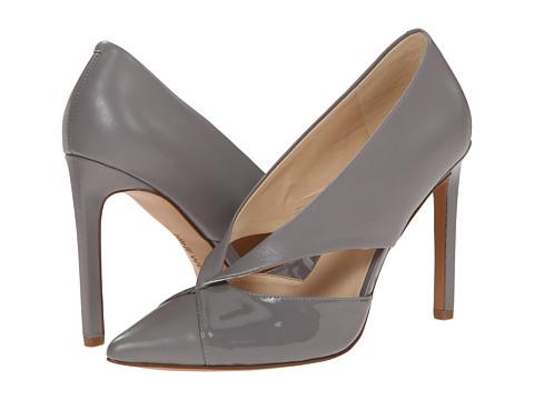 Nine West - Tayme (Grey/Grey Leather) High Heels