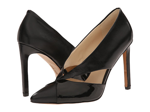 Nine West - Tayme (Black/Black Leather) High Heels