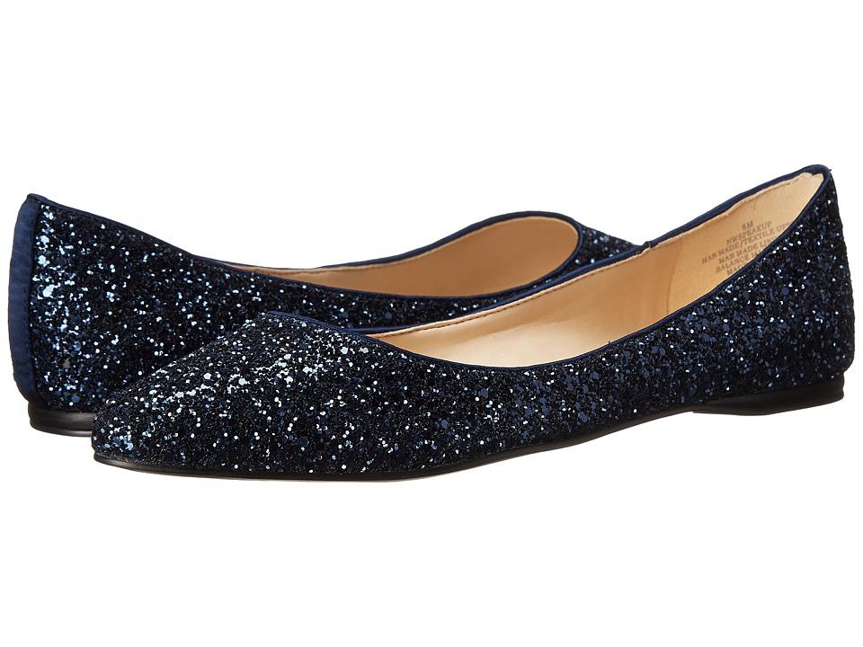 Nine West - SpeakUp (Navy Fabric) Women's Dress Flat Shoes