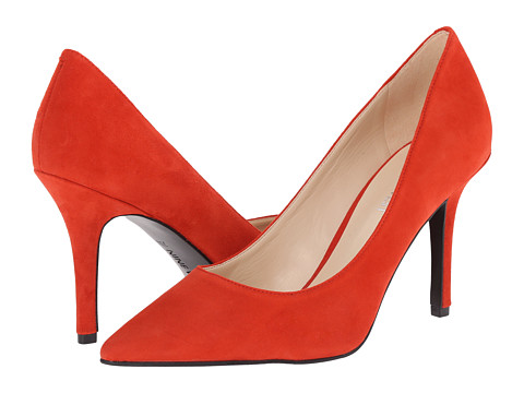 Nine West - Jackpot (Red Suede 1) High Heels