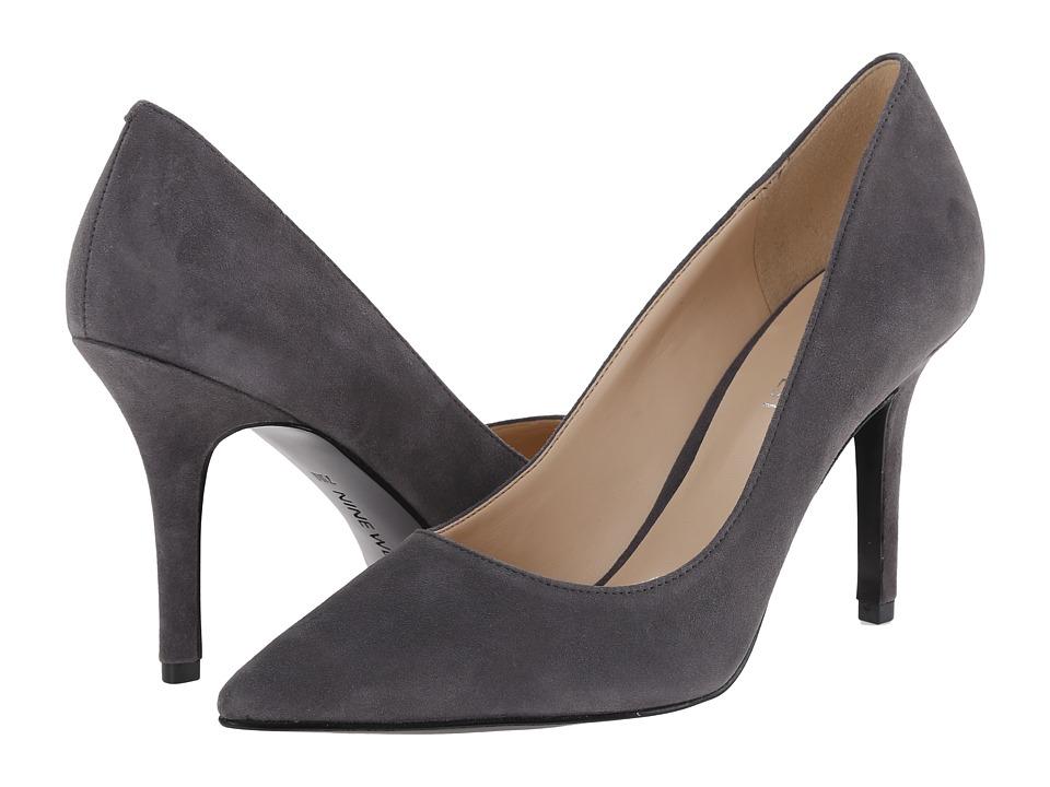 Nine West - Jackpot (Dark Grey Suede 1) High Heels