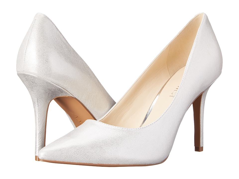 Nine West - Jackpot (Silver Metallic) High Heels