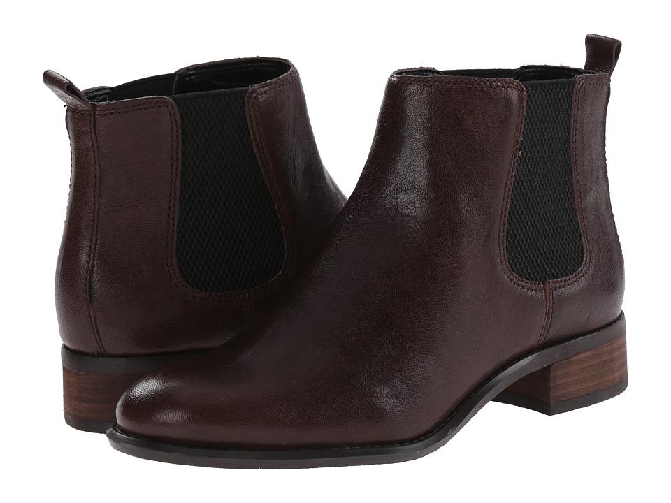 Nine West - Jara (Brown/Black Leather) Women's Boots