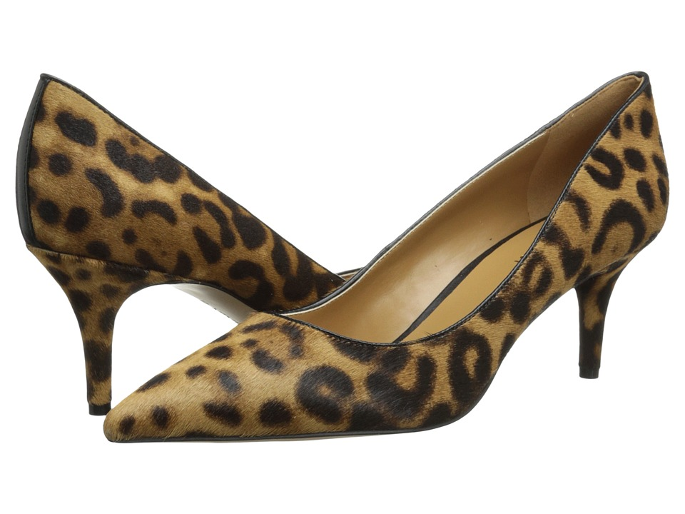 Nine West - Margot (Natural Combo/Black Pony) High Heels