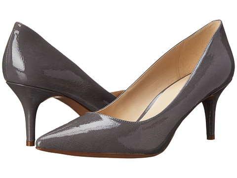 Nine West - Margot (Light Grey Patent Synthetic) High Heels