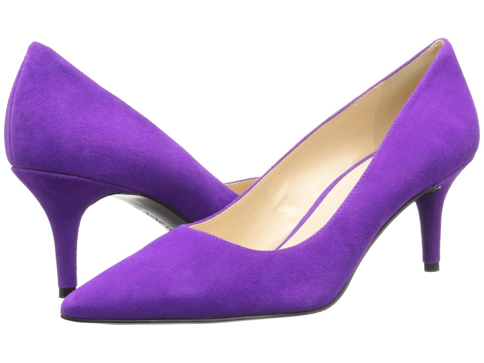 Nine West - Margot (Purple Suede) High Heels