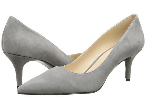 Nine West - Margot (Light Grey Suede) High Heels