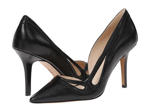 Nine West - Jiterbug (Black Leather) High Heels