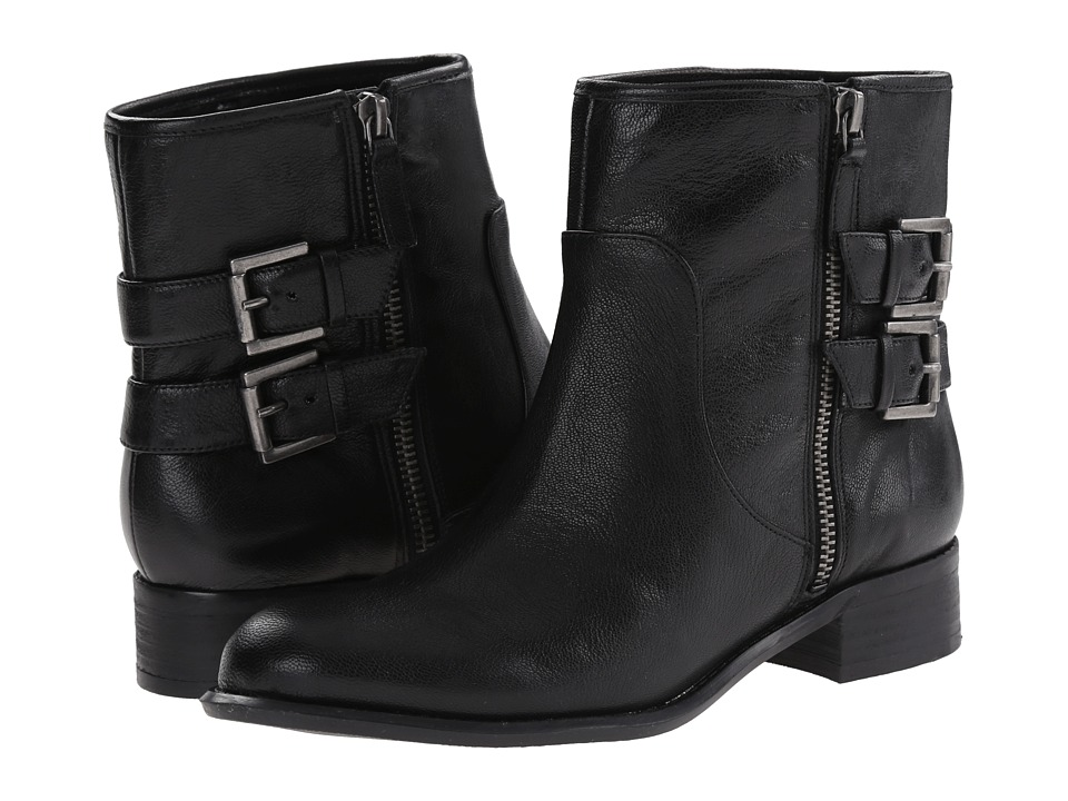 Nine West Justthis (Black Leather) Women