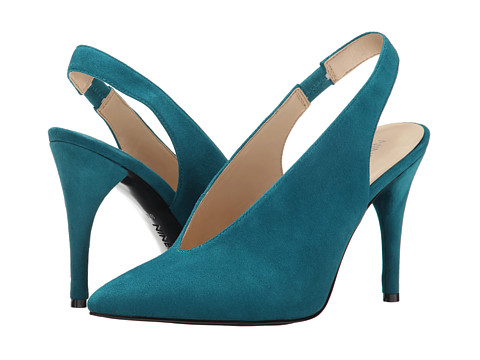 Nine West - Fennel (Blue Green Suede) High Heels