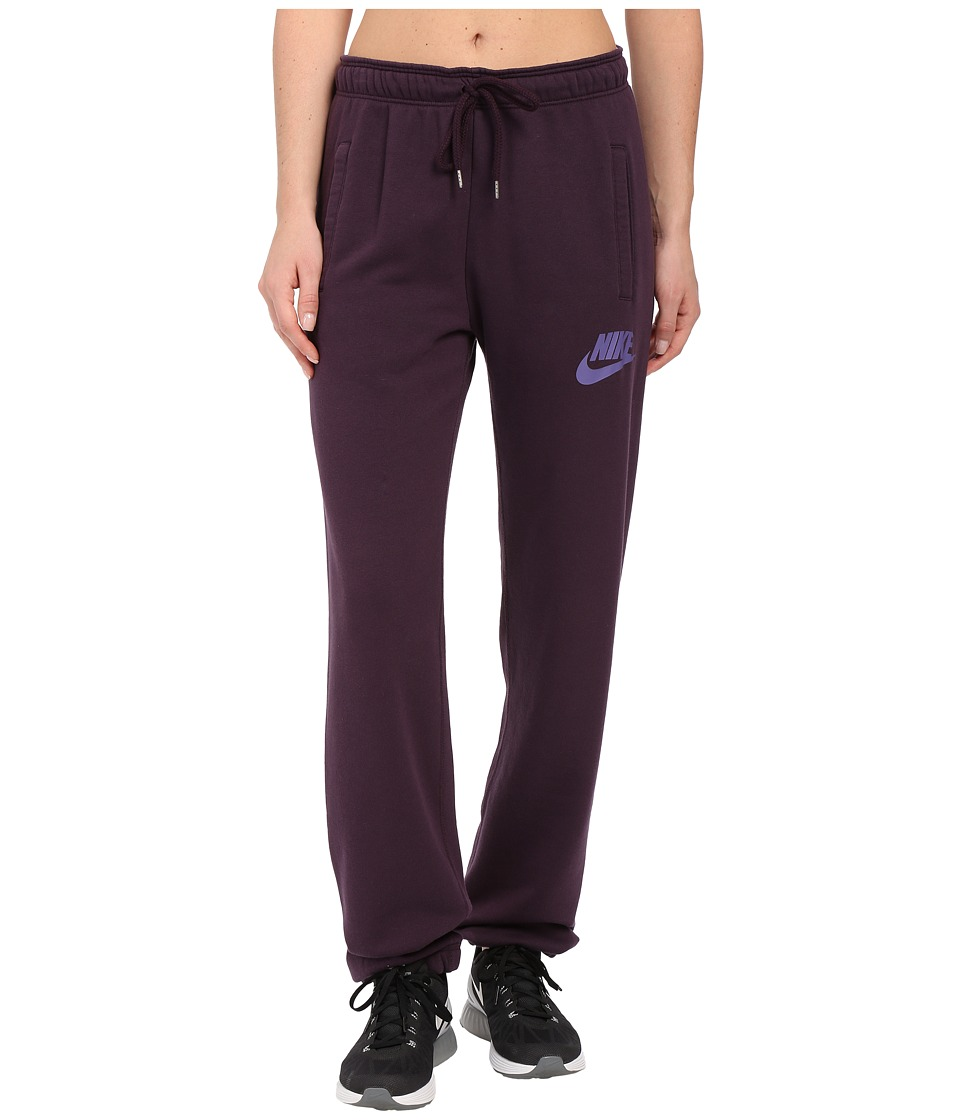 Nike - Rally Loose Pant (Noble Purple/Noble Purple/Washed Purple) Women's Casual Pants