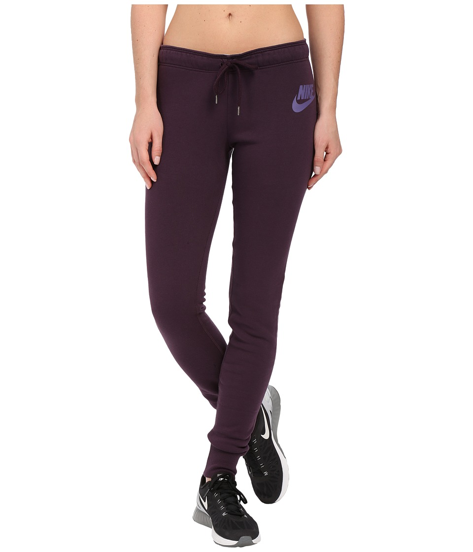Nike - Rally Tight Pant (Noble Purple/Noble Purple/Washed Purple) Women's Casual Pants