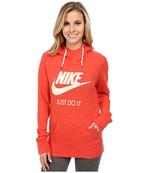 Nike - Gym Vintage Hoodie (Light Crimson/Sail) Women's Sweatshirt