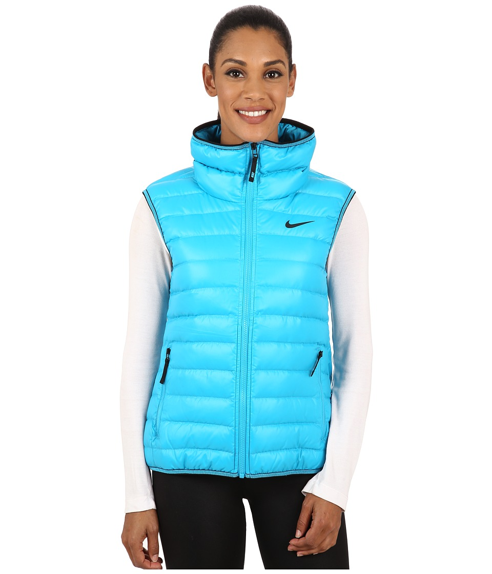 Nike - Victory 550 Vest (Blue Lagoon/Black) Women