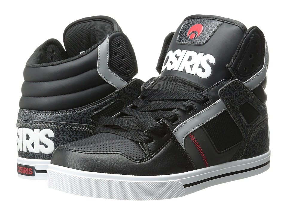 Osiris Clone (Black/White/Red) Men