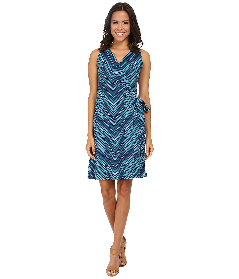 Tommy Bahama - Bonbow Lines Wrap Dress (Tropical Island) Women's Dress