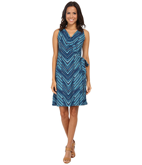 Tommy Bahama - Bonbow Lines Wrap Dress (Tropical Island) Women