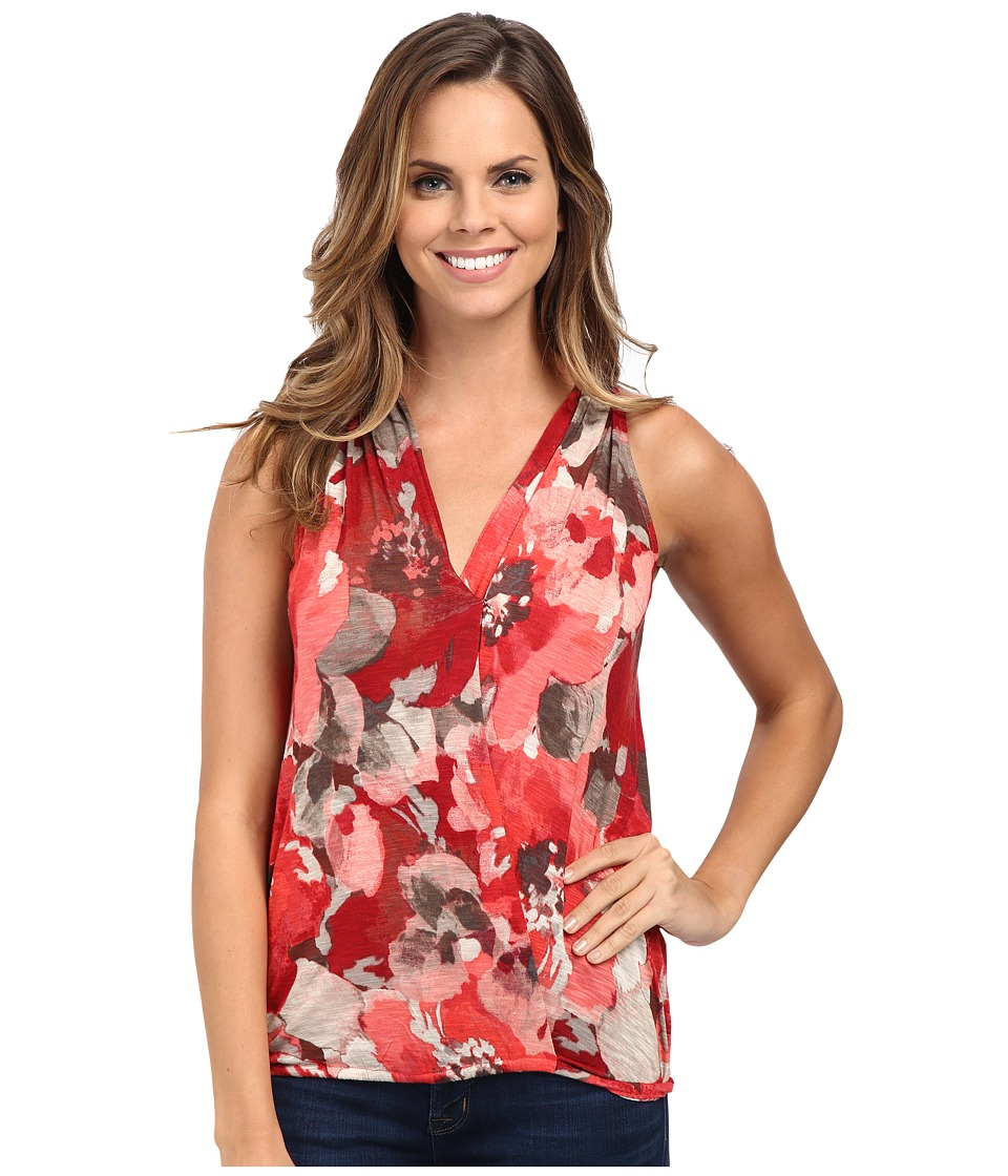Tommy Bahama - Ruby Beach Floral Halter Top (Candy Rose) Women's Sleeveless