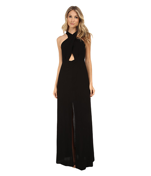 Brigitte Bailey - Stacy Halter Maxi Dress (Black) Women