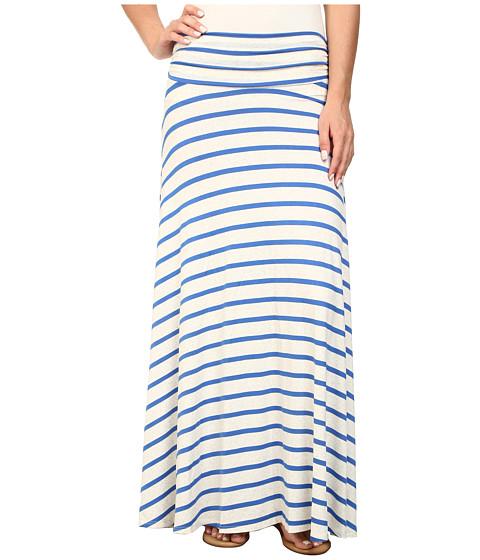 Brigitte Bailey - Jordan Stripe Maxi Skirt (Blue/Beige) Women's Skirt