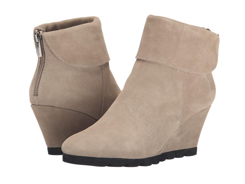 Steven - Berkli (Taupe Suede) Women's Wedge Shoes