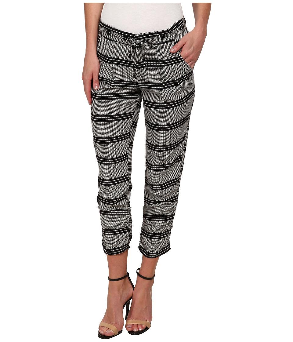 Brigitte Bailey - Mariah Print Pants (Cream/Black) Women's Casual Pants
