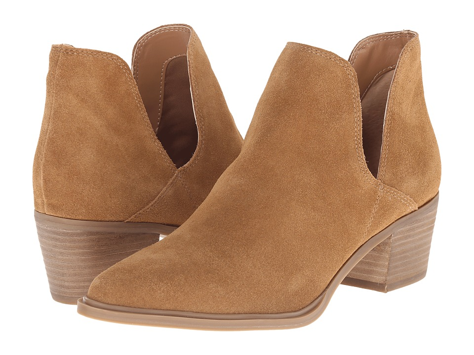 Steven - Dextir (Camel Suede) Women's Dress Pull-on Boots