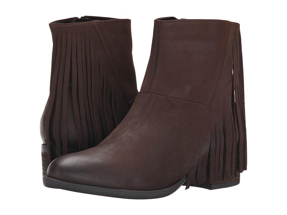 Steven - Casidyy (Brown Nubuck) Women's Zip Boots