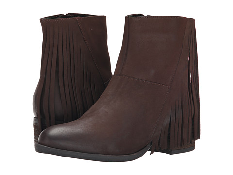 Steven - Casidyy (Brown Nubuck) Women's Zip Boots