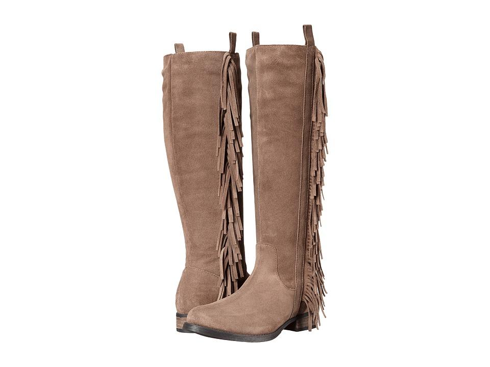 Steven - Daltton (Taupe Suede) Women's Zip Boots