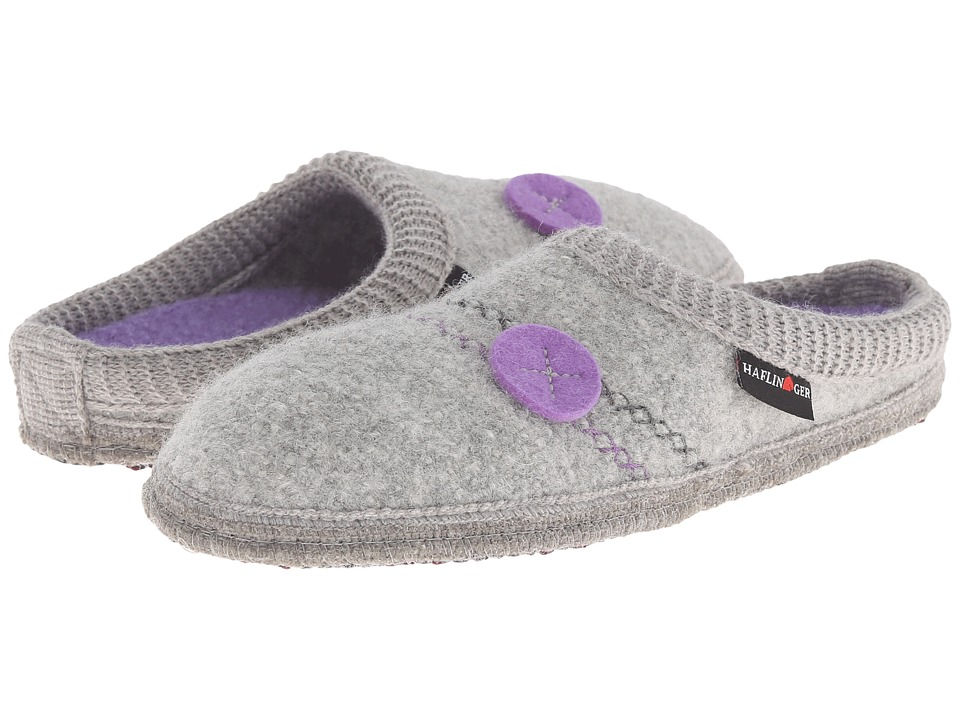 Haflinger - Hannah (Silver Grey) Women's Slippers