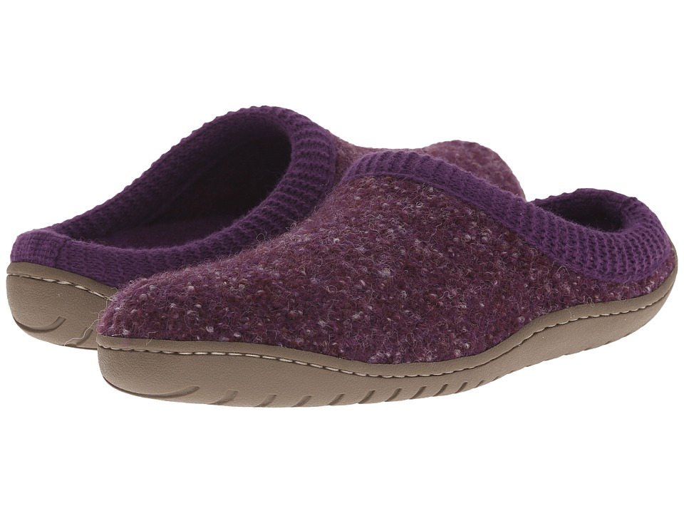 Haflinger - Power (Eggplant) Women's Slippers