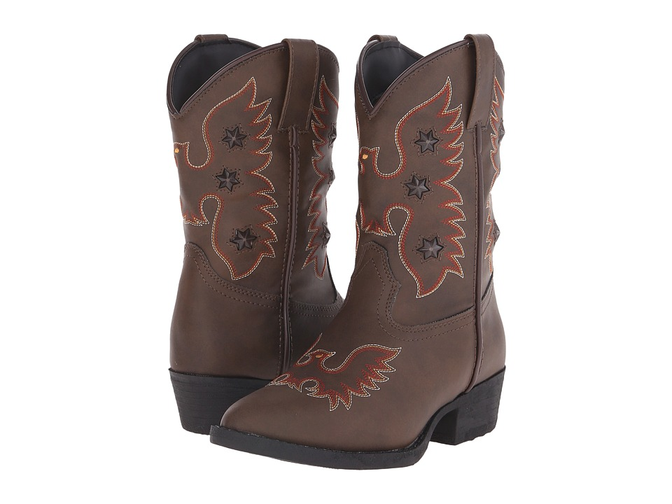 Laredo Kids - Gadget (Toddler/Little Kid) (Brown) Cowboy Boots