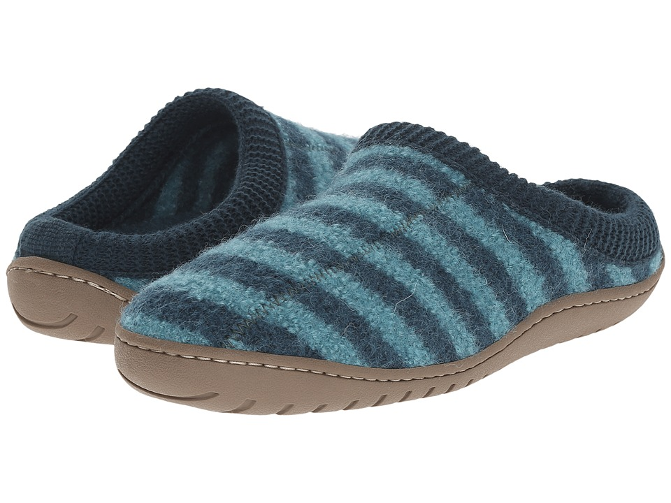 Haflinger - Senso (Teal) Women's Slippers