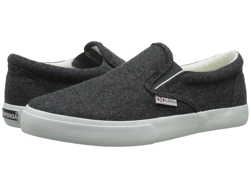 Superga - 2311 Wool (Dark Grey) Men's Slip on Shoes
