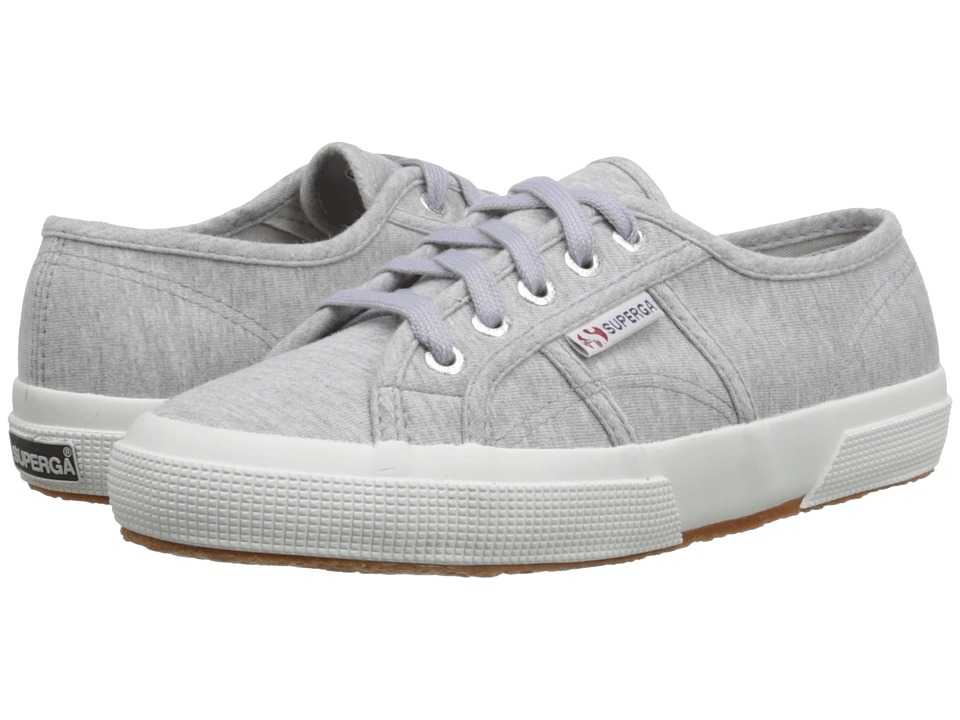 Superga - 2750 Jersey (Grey) Women's Lace up casual Shoes