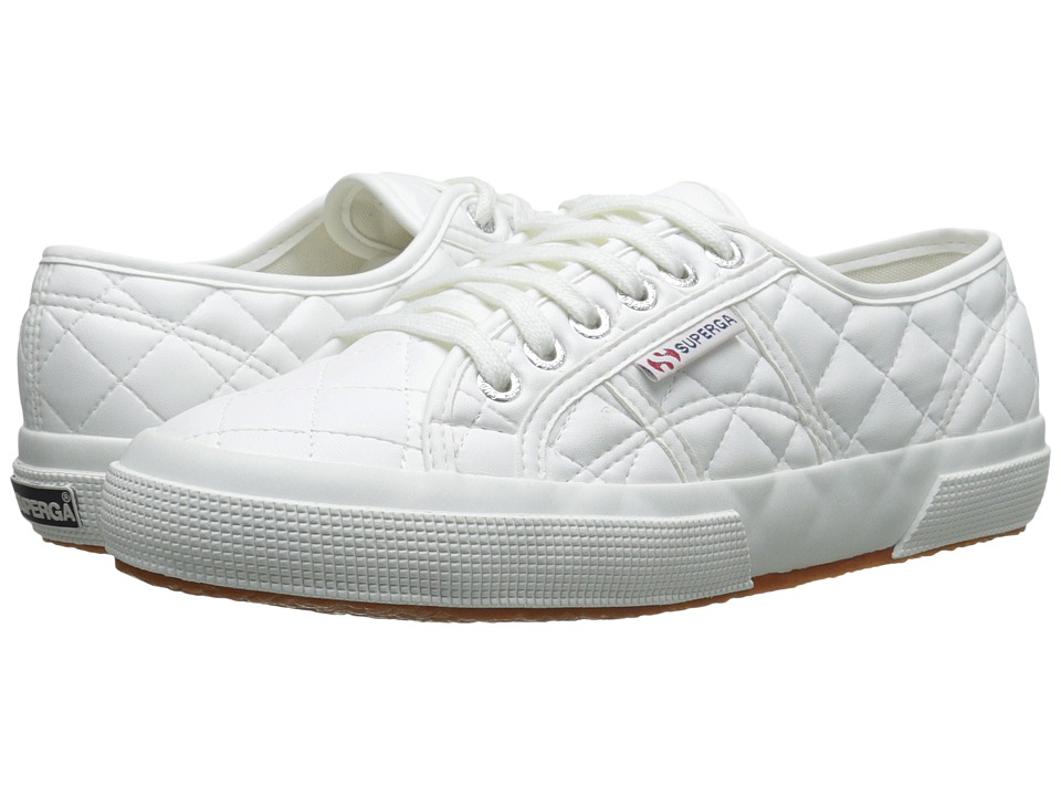 Superga - 2750 Quilted (White) Women