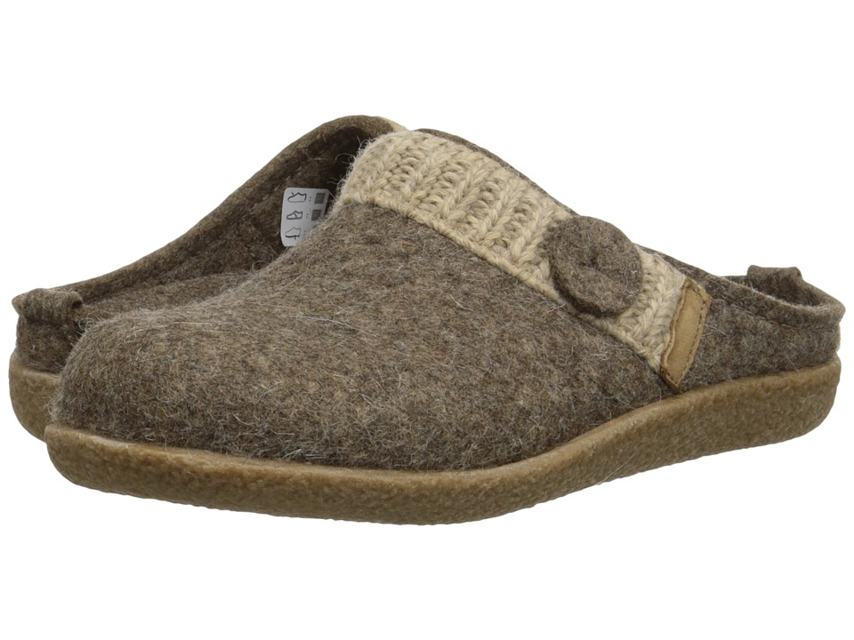 Haflinger - Leslie (Earth) Women's Slippers