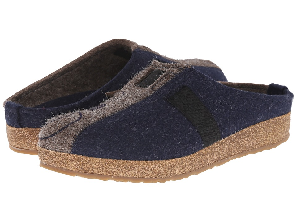 Haflinger - Magic (Captains Blue/Earth) Women's Clog Shoes