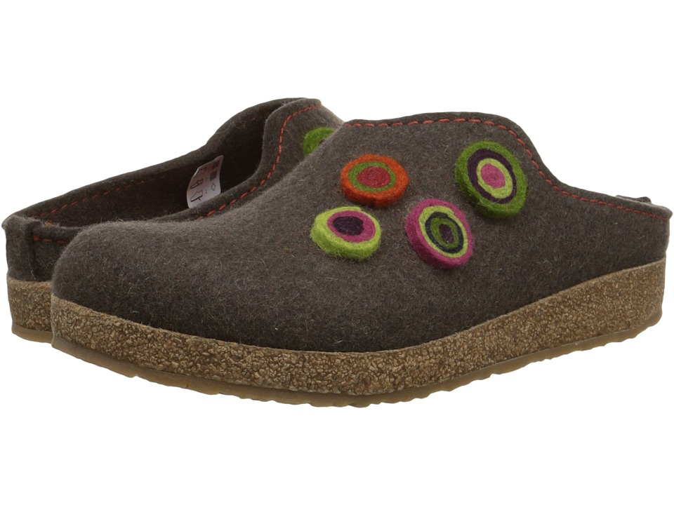 Haflinger - Chloe (Smokey Brown) Women's Clog Shoes