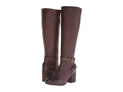 Steven - Olyvvya (Brown Leather) Women's Zip Boots
