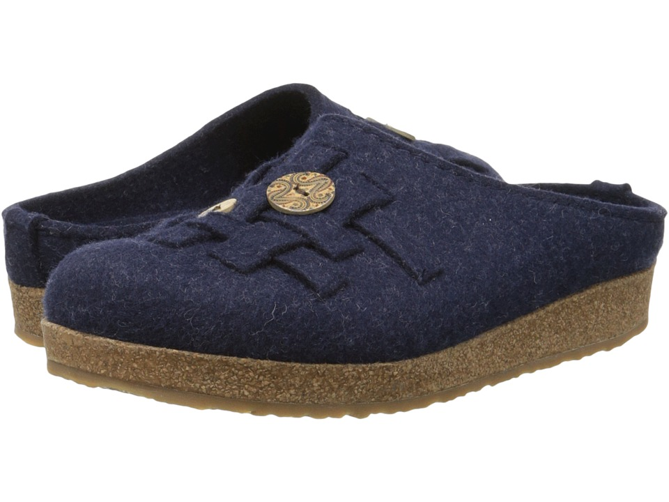 Haflinger - Woven (Captains Blue) Women's Slippers