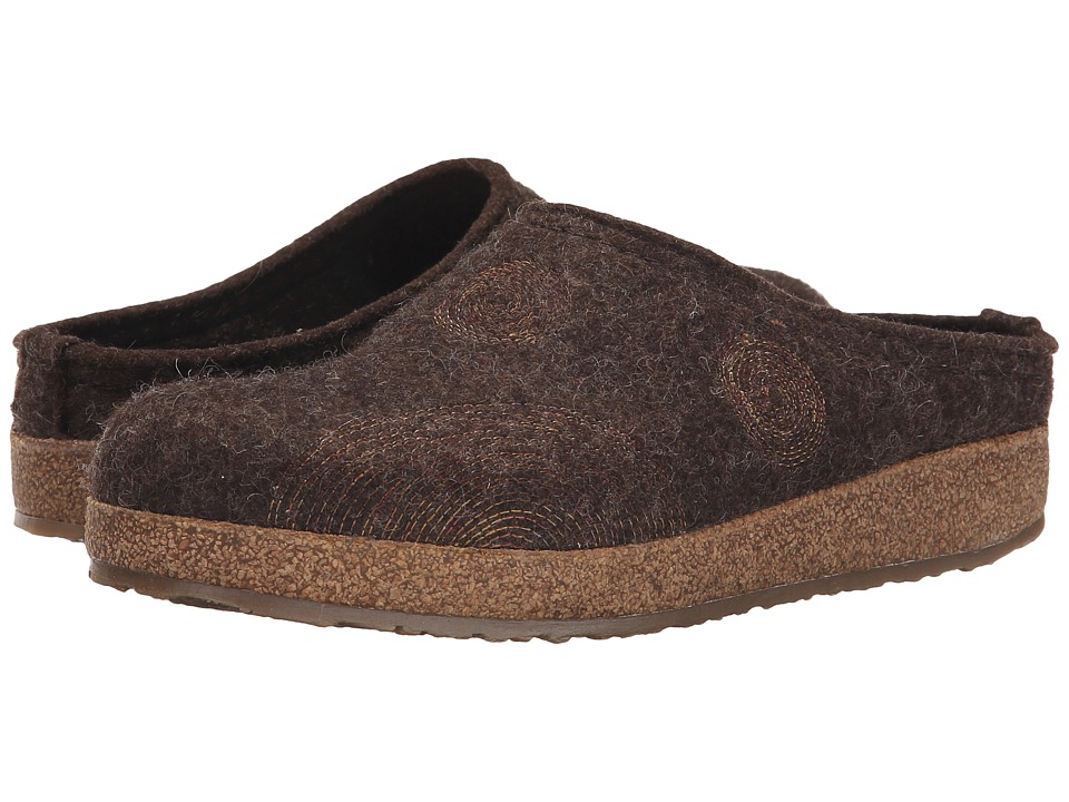 Haflinger - Spirit (Chocolate) Women's Clog Shoes