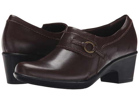 Clarks - Genette Curve (Brown) Women's Shoes