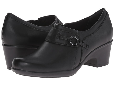 Clarks - Genette Curve (Black) Women's Shoes