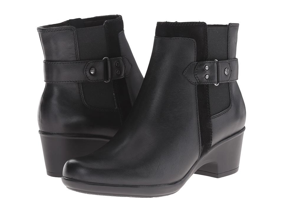 Clarks - Malia Maui (Black) Women's Shoes