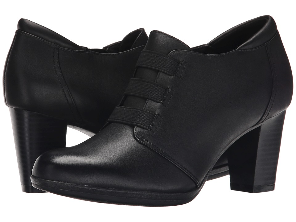 Clarks - Brynn Celia (Black) Women's Shoes