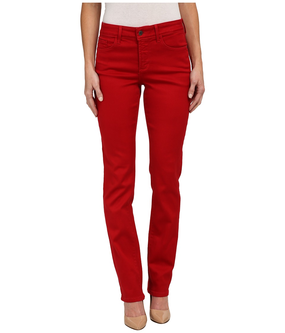 NYDJ - Samantha Slim Sculpting Stretch (Cardinal Red) Women's Casual Pants